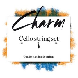 Charm cello snaar