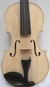 Ongelakte viool