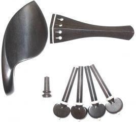 onderdelen viool D