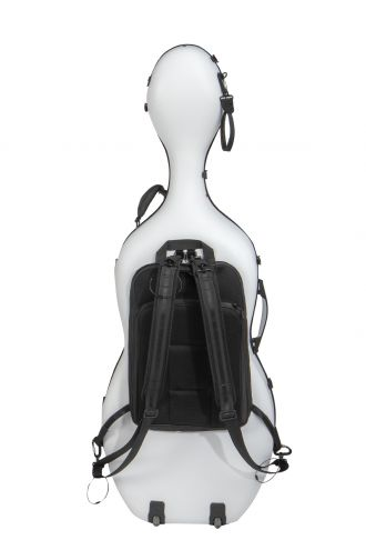 Hybride Carbon cellokoffer B6